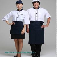 Đồng Phục Bếp Khách Sạn - Đồng Phục Làm Bếp - Gôn Mai