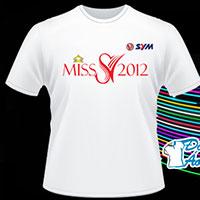 Áo Quảng Cáo Miss 2012 SYM - Áo Thun Chuyên Nghiệp