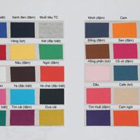 Chọn Màu Vải Thực - May Áo Thun Đồng Phục